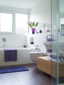 baño adornado