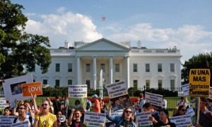 Amnesty International Holds Rally In Favor Of Keeping Unaccompanied Children Immigrants In The Country