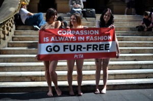 AUSTRALIA-PROTEST-PETA