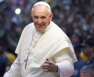 Pope Attends Welcome Ceremony In Rio De Janeiro