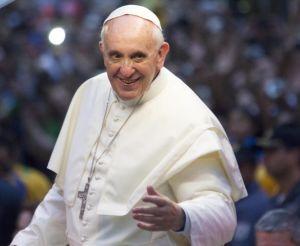 Pope Attends Welcome Ceremony In Rio De Janeiro