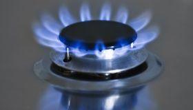 Close-up of gas burner