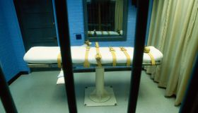 Lethal injection death chamber in prison, Huntsville, Texas, USA