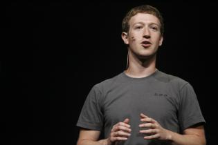 Facebook CEO Mark Zuckerberg delivers a