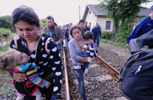 HUNGARY-EUROPE-MIGRANTS