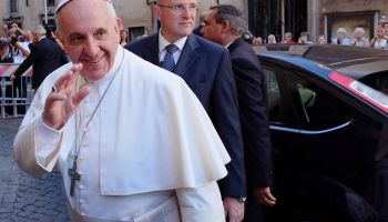 ITALY-POPE-JESUITS