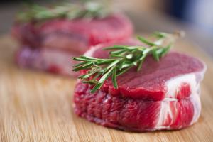 Raw Beef Tenderloin