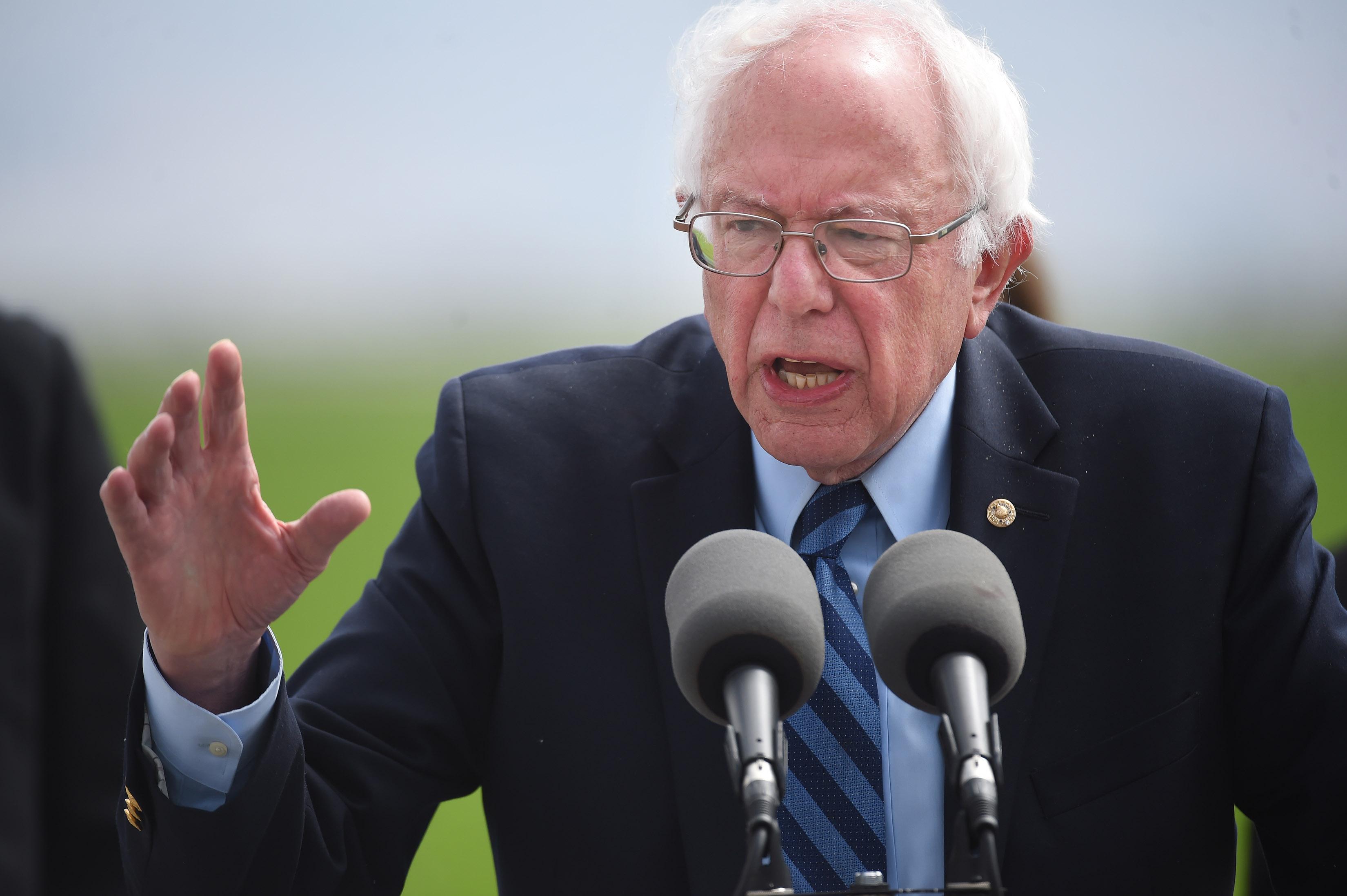 Bernie Sanders - Spreckels, CA
