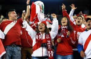 COPA America: Peru And Brazil At Gillette Stadium In Foxborough, Mass