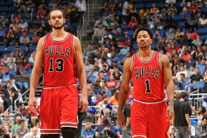 Joakim Noah and Derrick Rose