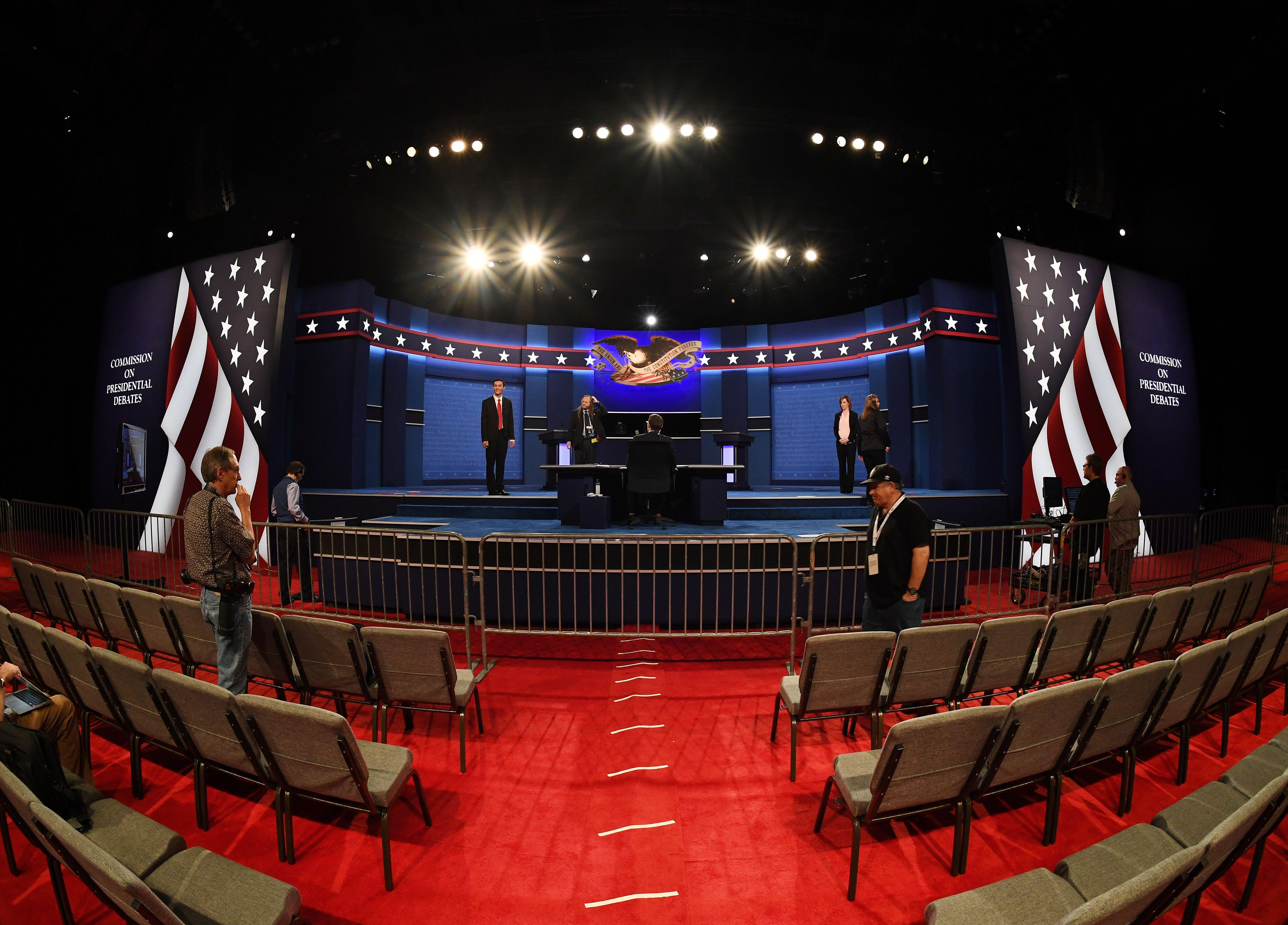 US-VOTE-DEBATE-PREPARATIONS