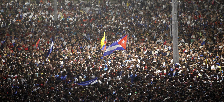 Fidel Castro's funeral in Havana