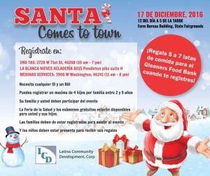 Santa Comes to Town V2