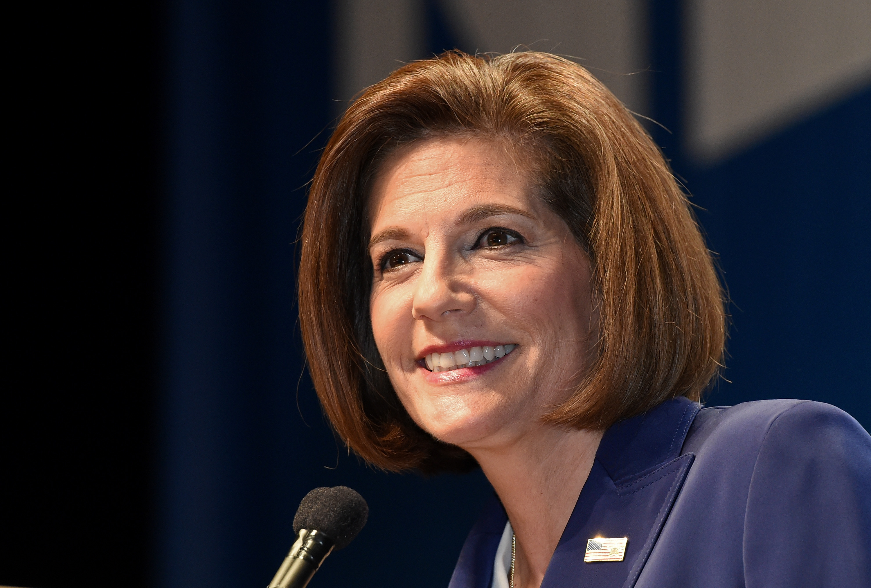 Democratic Senate Candidate Catherine Cortez Masto Appears At Nevada's Election Night Event
