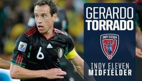 Gerardo Torrado Indy Eleven