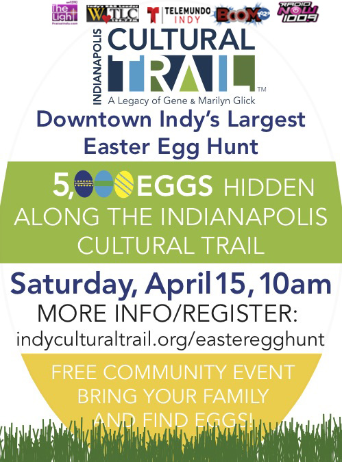 Cultural Trail Present Egg-Stavaganza Flyer