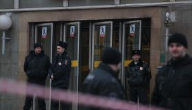 Explosion at a subway station in St Petersburg