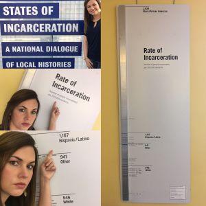 Explorando @ Encarcelation Exhibit Library Collage