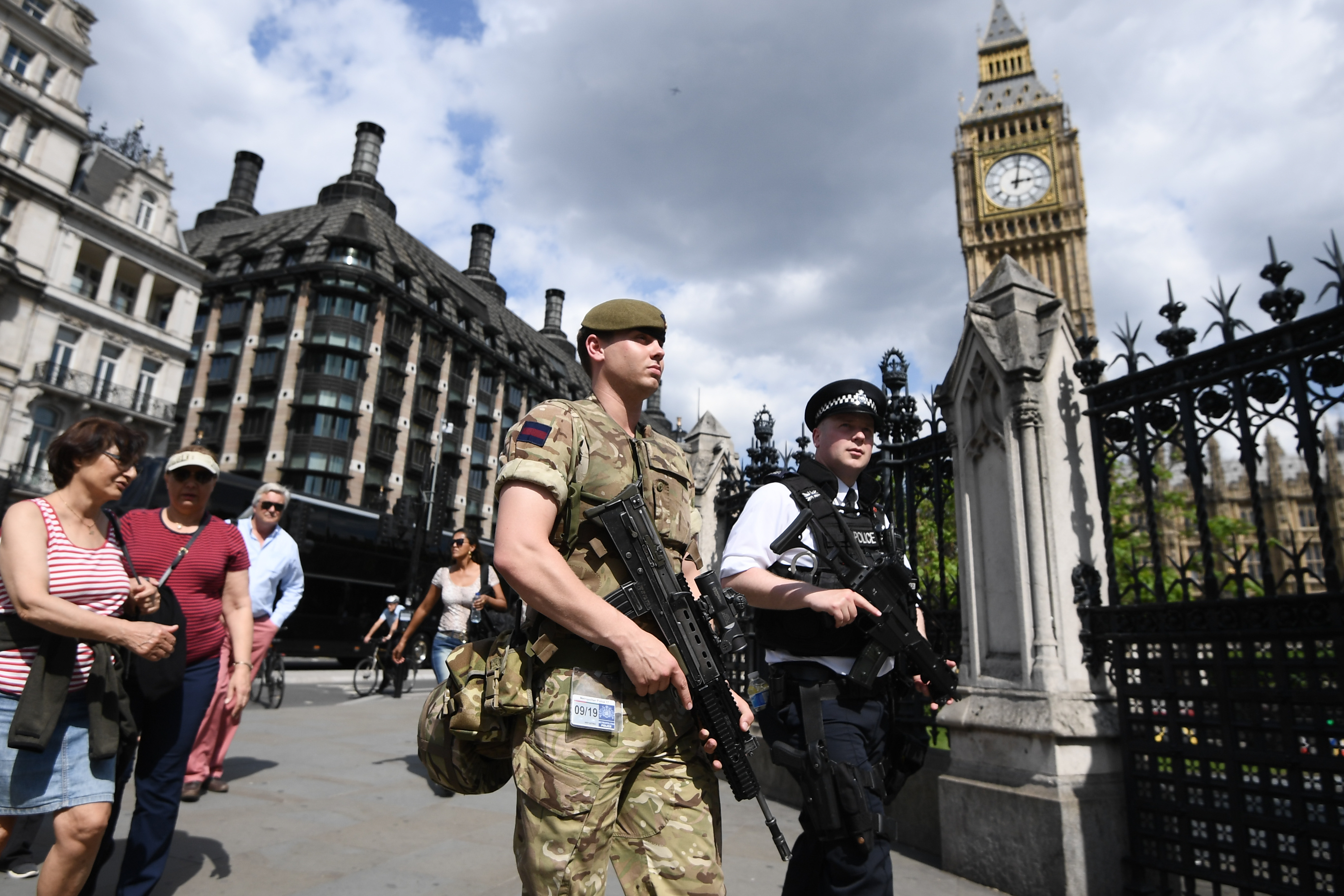 British Army Deployed On The Streets As UK Terror Alert Increases To Critical