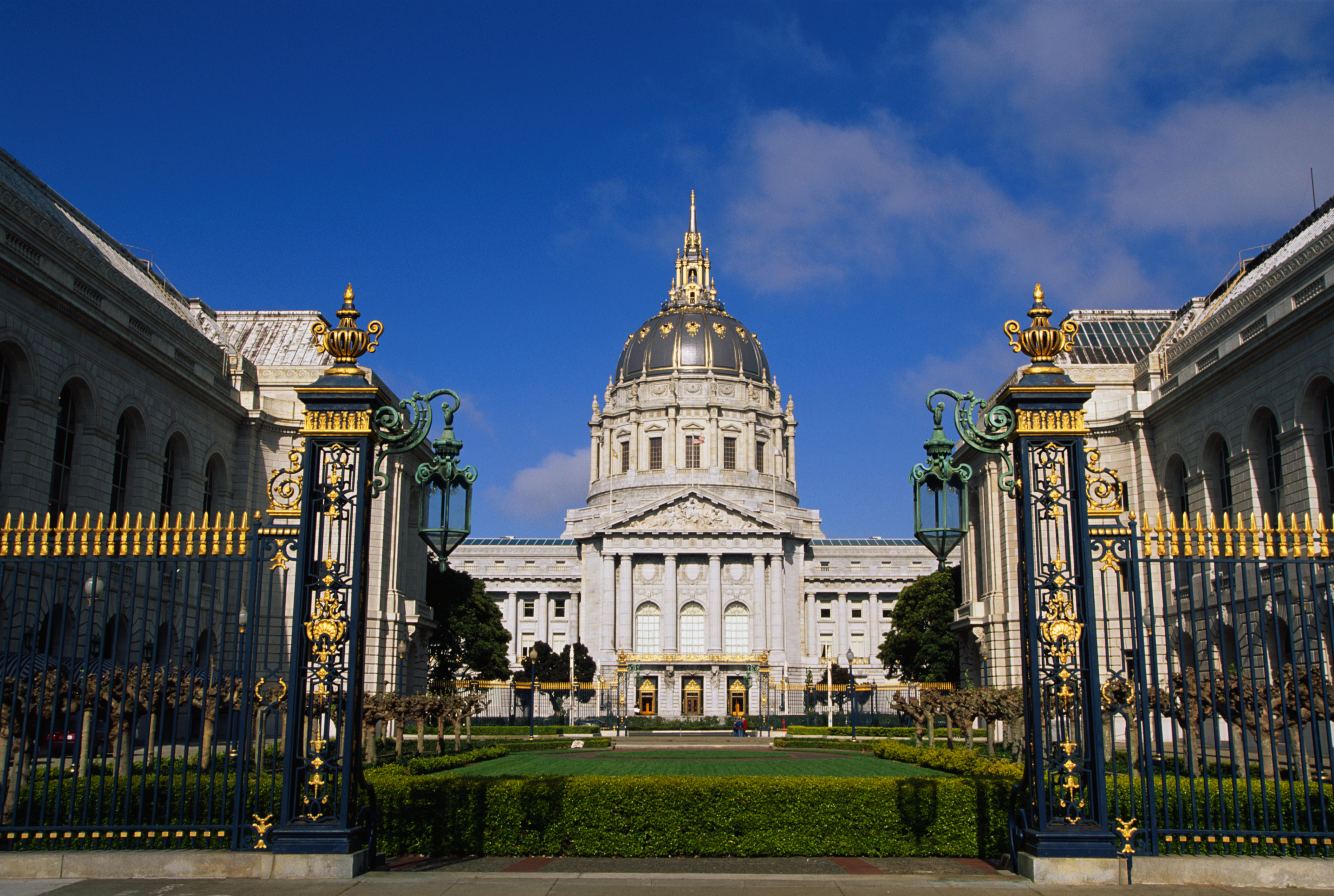Refurbished San Francisco City Hall