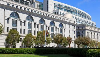 Civic Center Courthouse in San Francisco