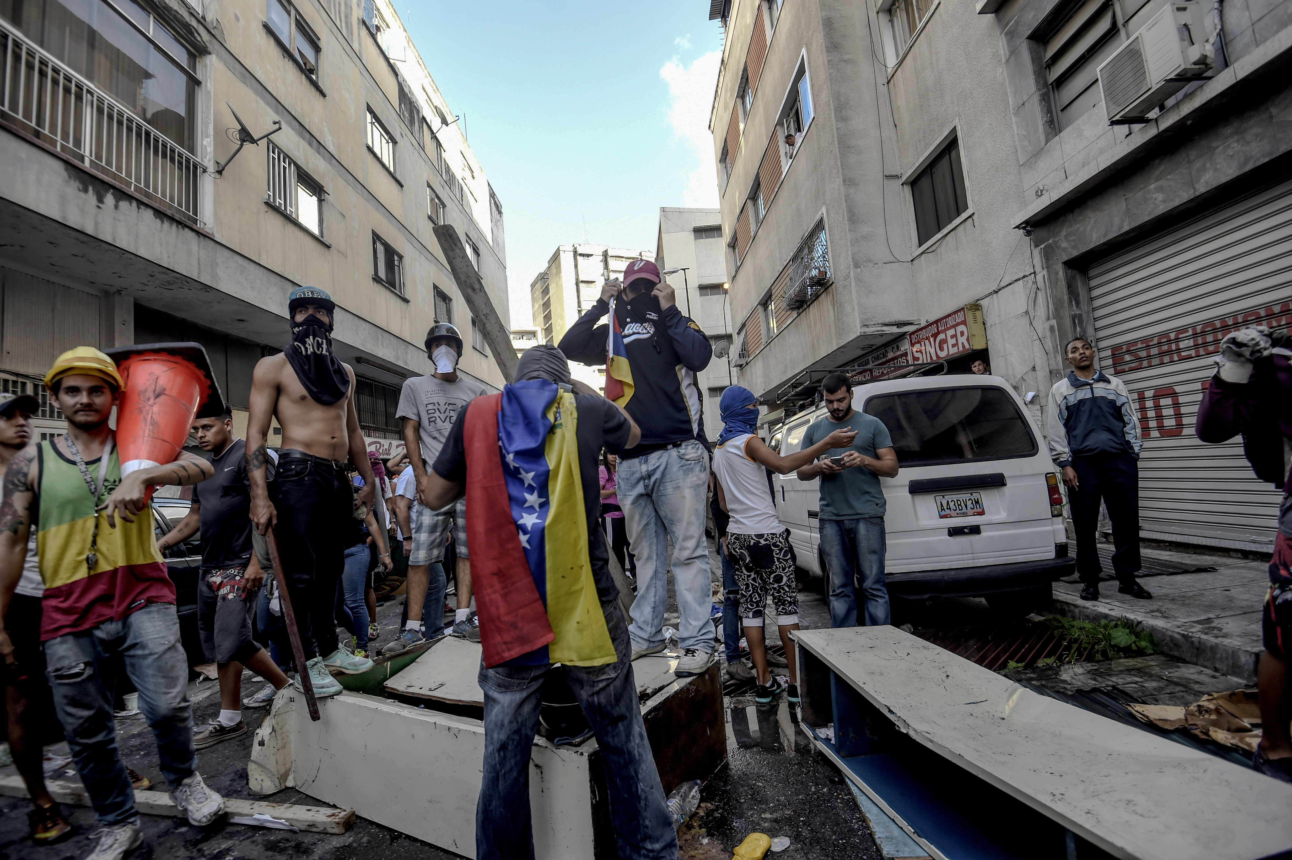 VENEZUELA-CRISIS-CONSTITUENT-ASSEMBLY-PROTEST