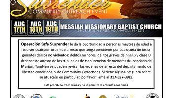 Safe Surrender Flyer