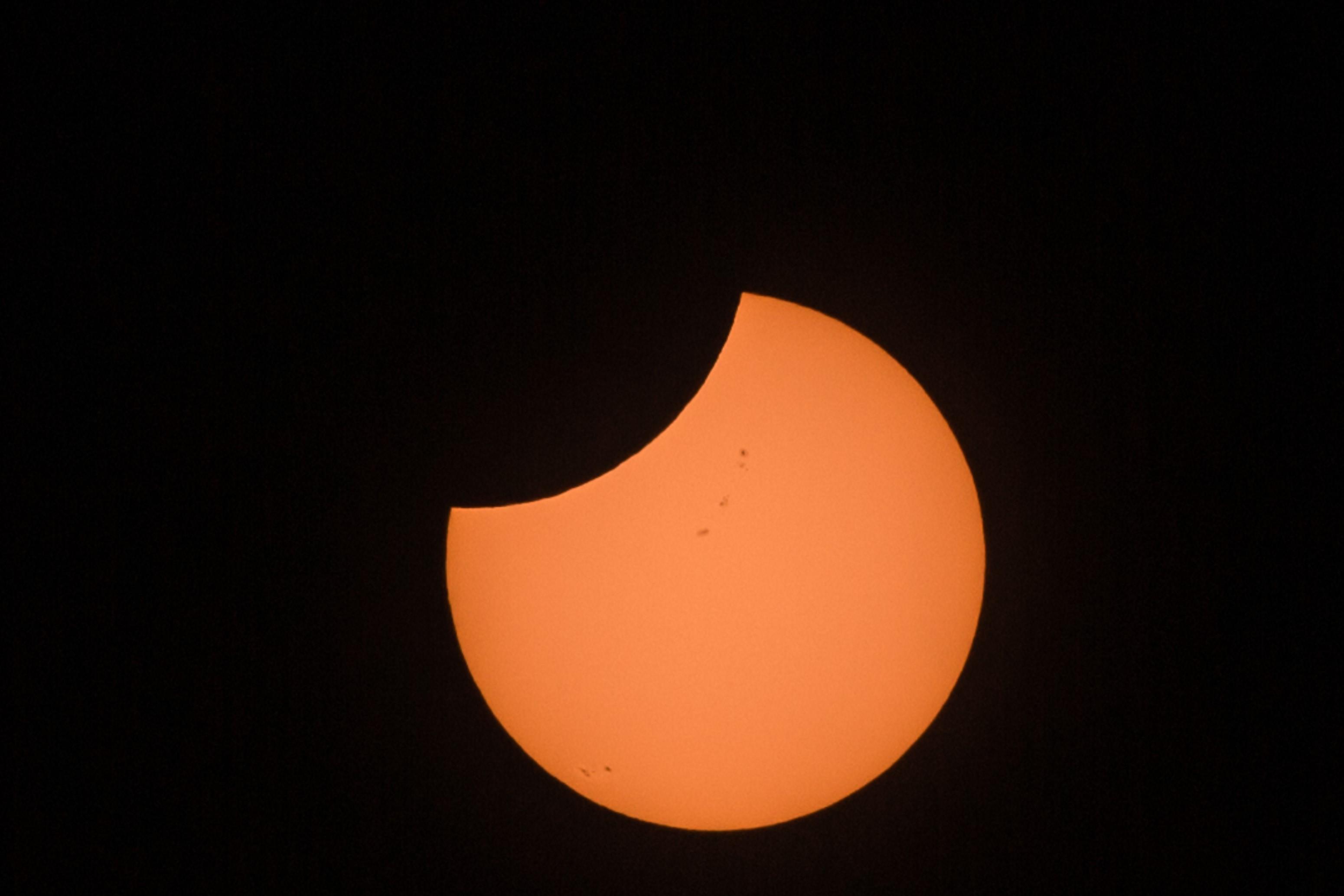 Solar Eclipse in Mexico