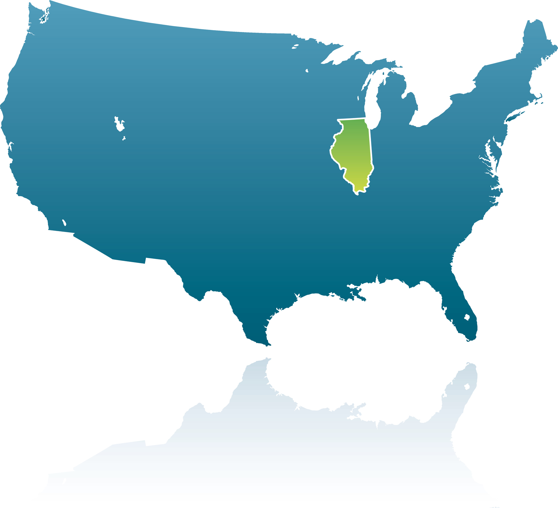 United States Maps: Illinois