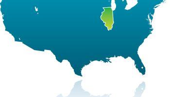 United States Maps: Illinois