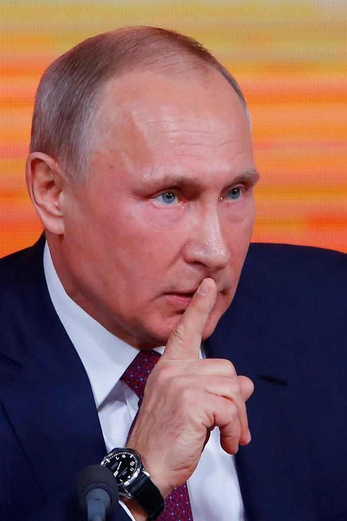 Russian President Vladimir Putin annual press conference