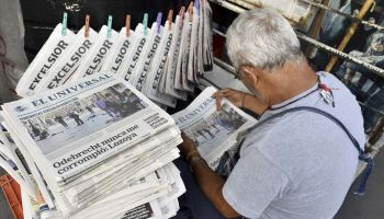 MEXICO-BARCELONA-ATTACK-NEWSPAPERS