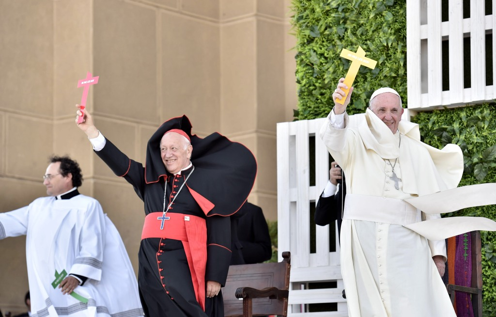 Pope Francis during his visit to Chile - Day 3