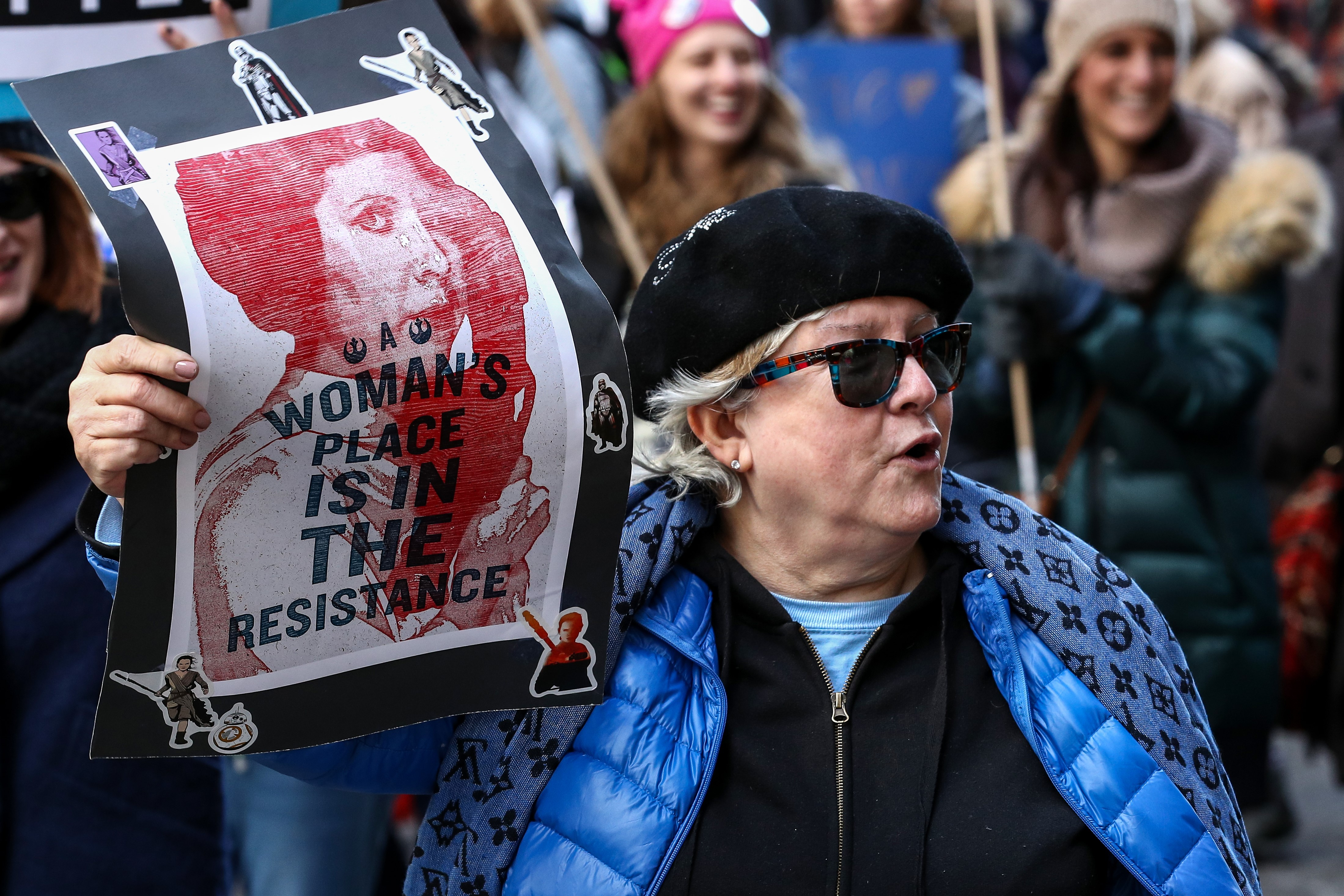 Women's March 2018 in Chicago