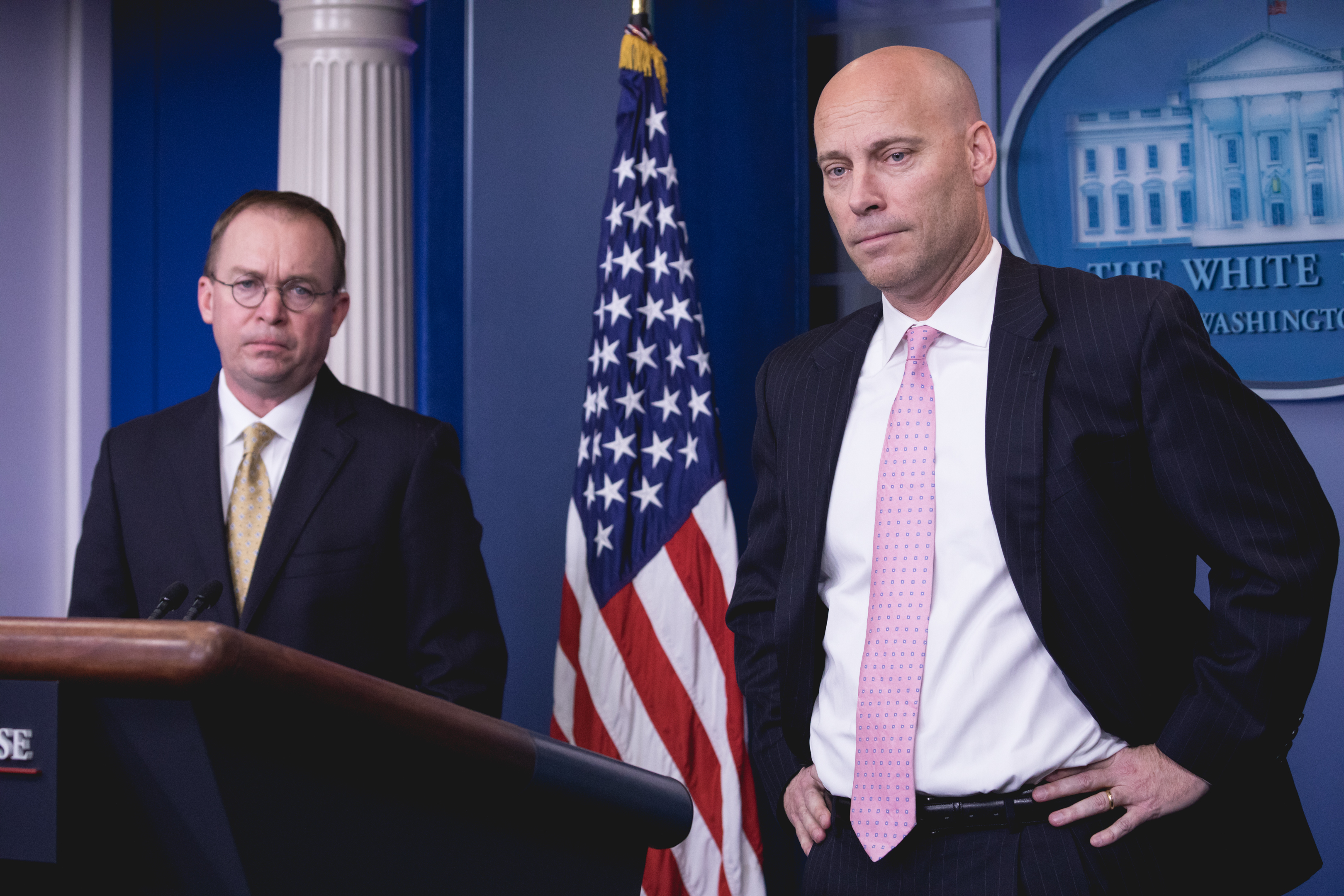 White House Briefing on U.S. Shutdown