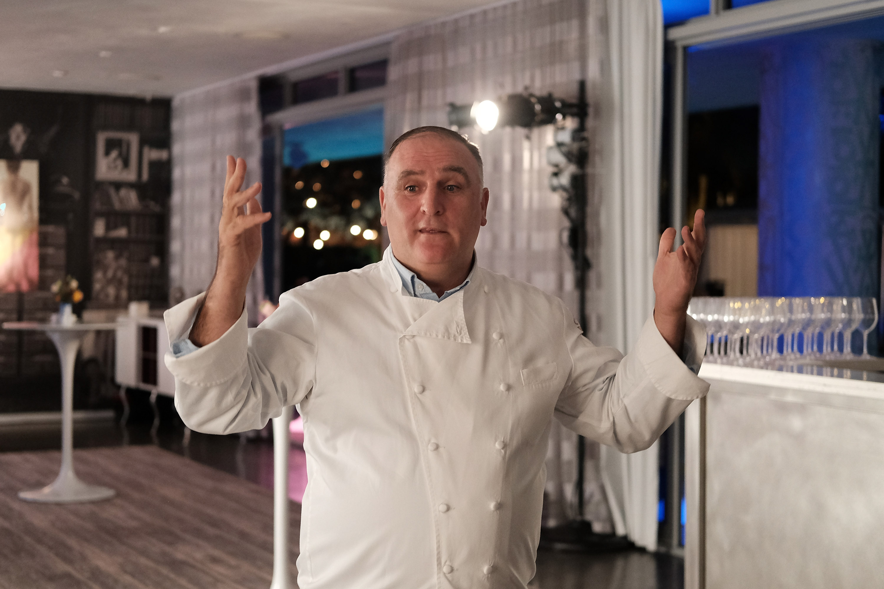 FOOD MEETS ART, Hosted By Jose Andres For American Express Platinum Card Members At The SLS South Beach Hotel