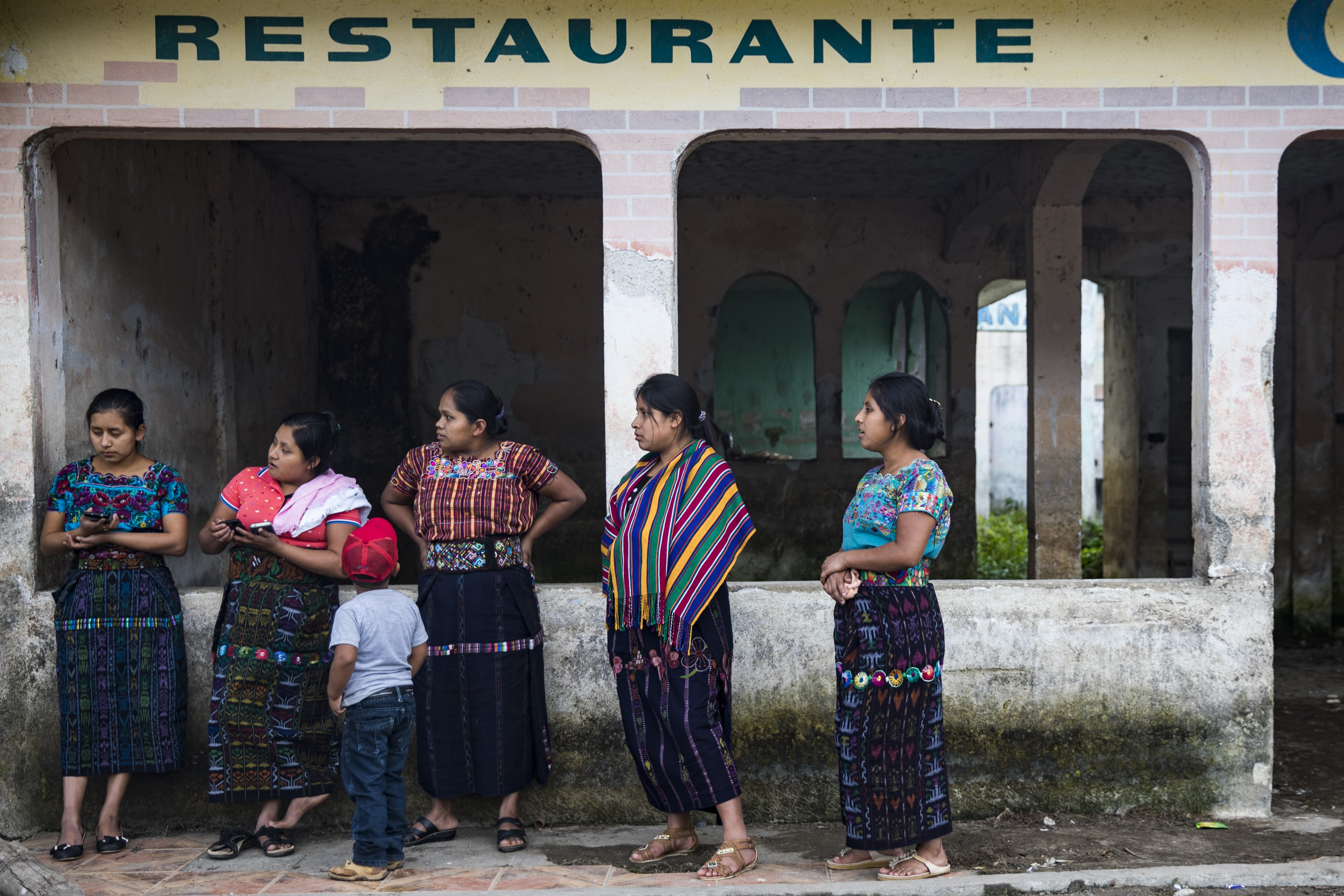 Daily Life around Lake Atitlan in Guatemala