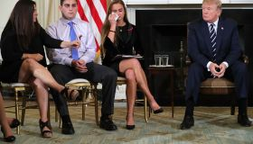 Trump Holds Listening Session With Students And Teachers On Mass Shootings