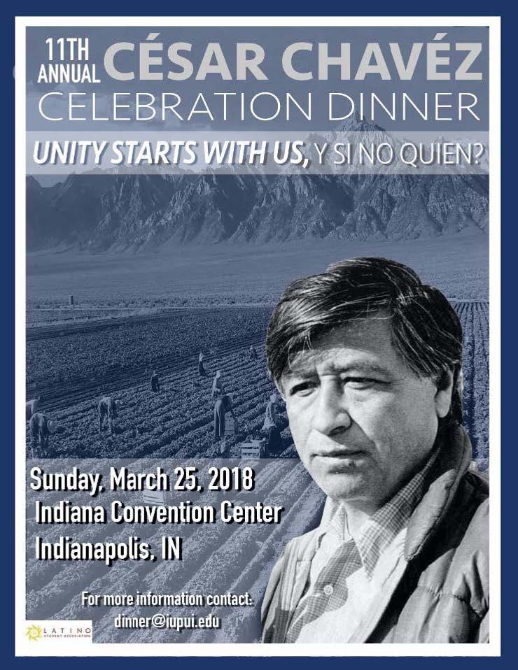 Cesar Chavez Dinner Indy Flyer