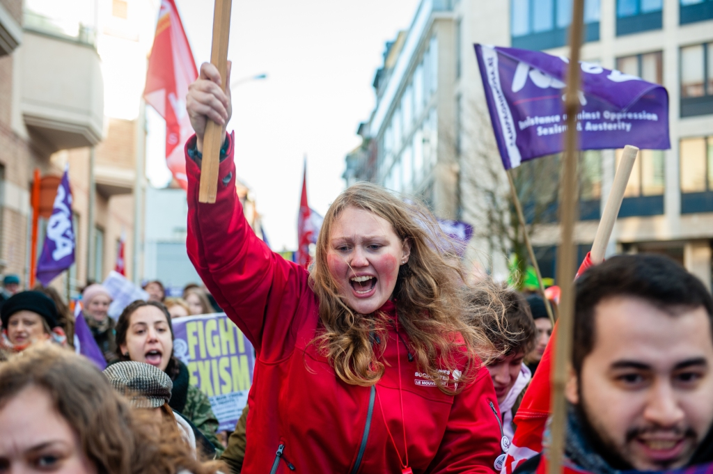 International Women's Day in Brussels