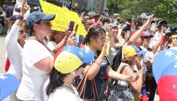 SOS Venezuela protest in New York