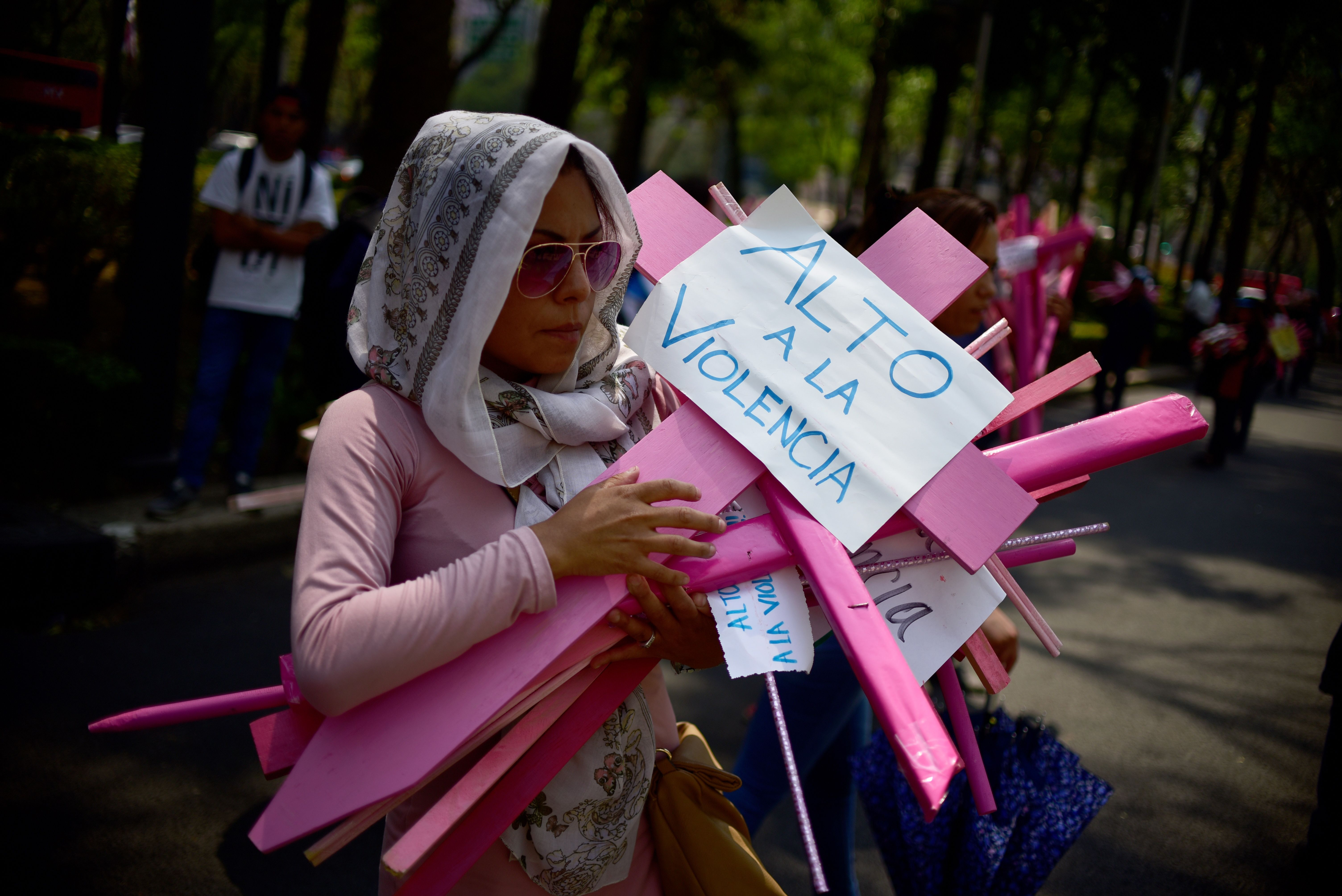 MEXICO-CRIME-VIOLENCE-PROTEST
