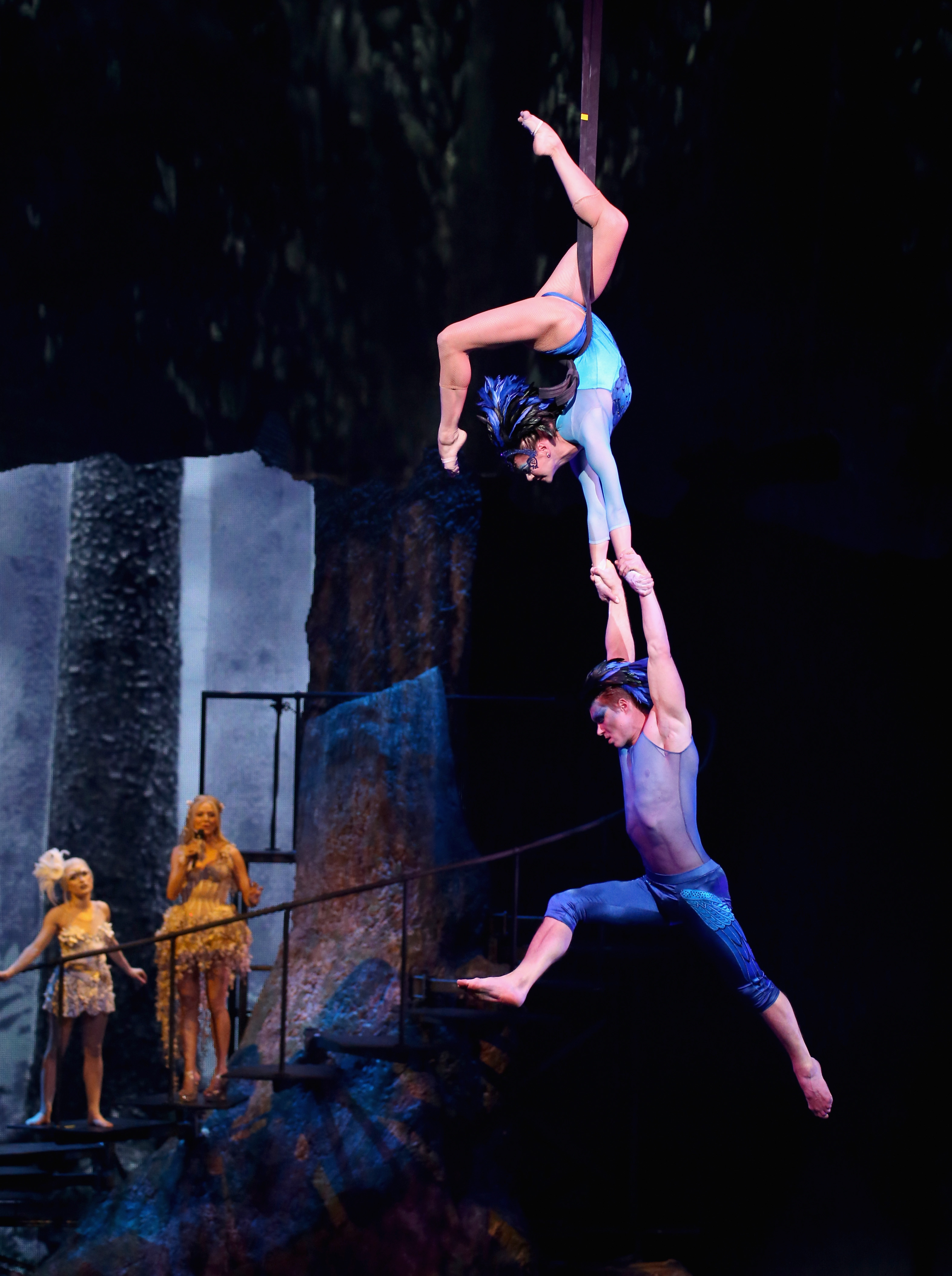 Dress Rehearsal For Sixth Annual 'One Night For One Drop' Imagined By Cirque du Soleil