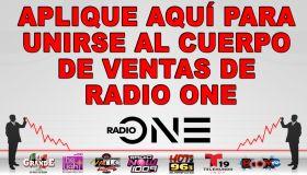 Aplique aquí para unirse al cuerpo de ventas de Radio One graphic