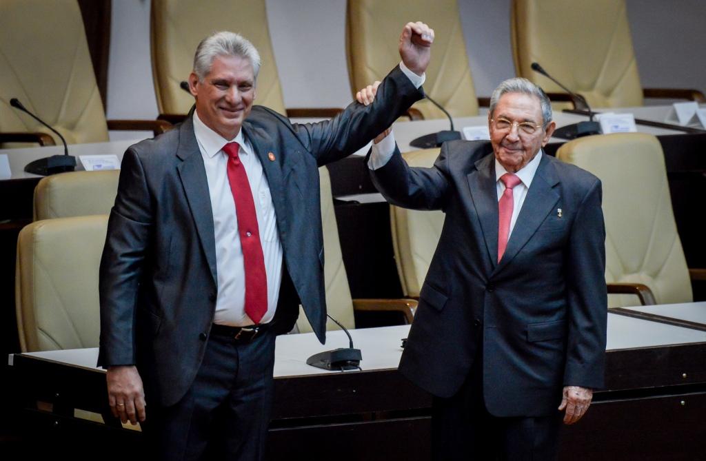CUBA-POLITICS-CASTRO-DIAZ-CANEL