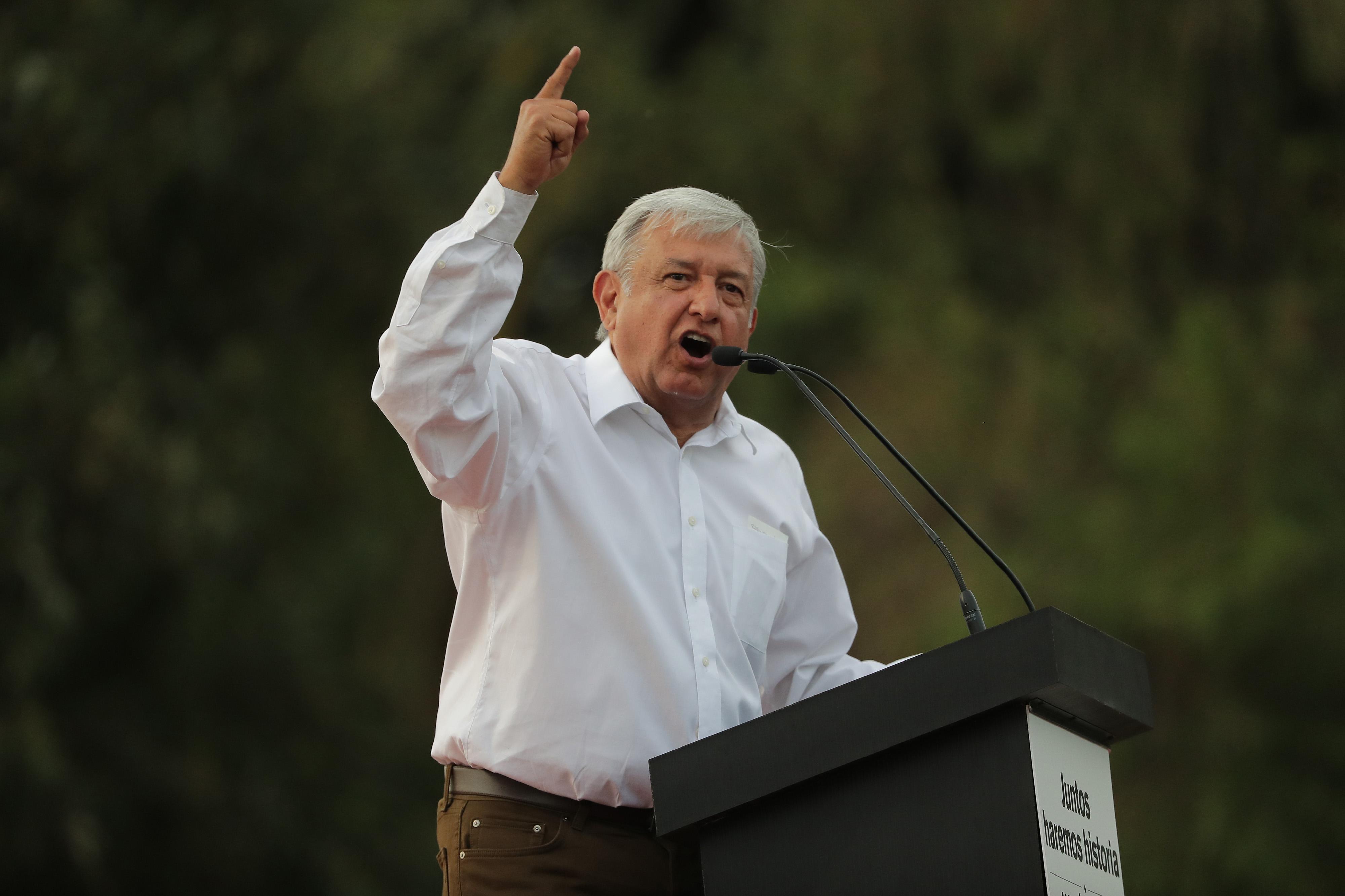 Andres Manuel Lopez Obrador Election Campaign