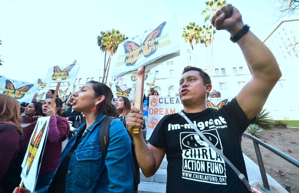 US-IMMIGRATION-DREAMERS-RALLY