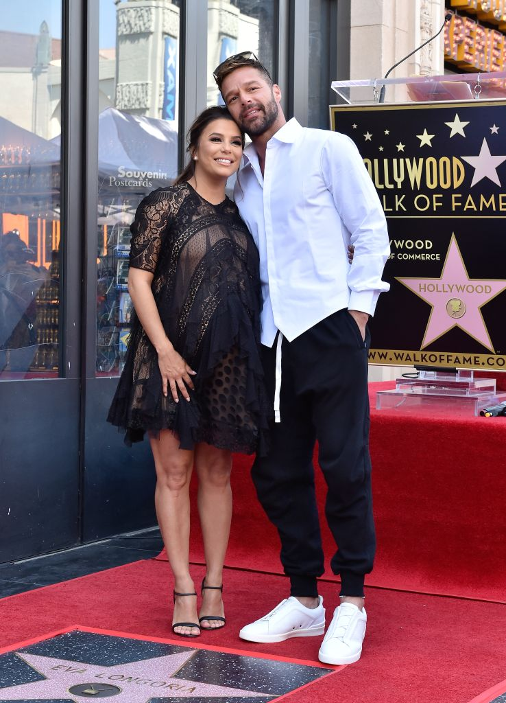 Eva Longoria Honored With Star On The Hollywood Walk Of Fame