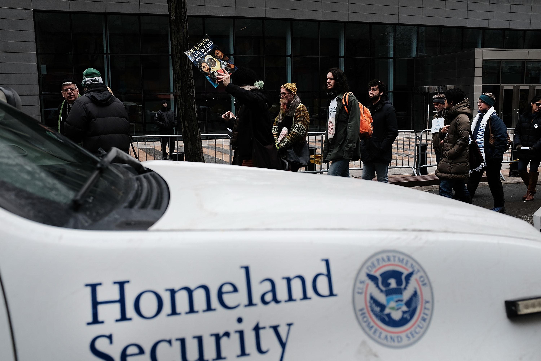 Activists Hold Solidarity Vigil Against Deportation In New York City
