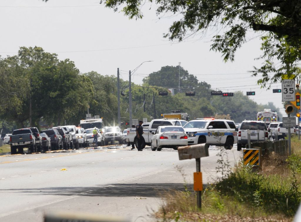 U.S.-TEXAS-HIGH SCHOOL-SHOOTING